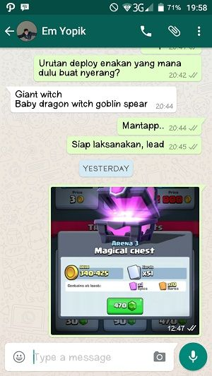 Alasan Harus Punya Clan Di Clash Royale 5