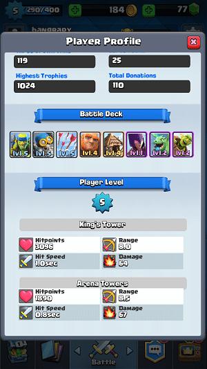 Cara Cepat Naik Level Clash Royale 5