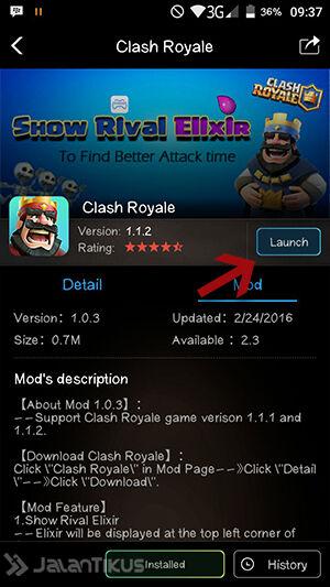 Mod Clash Royale 2