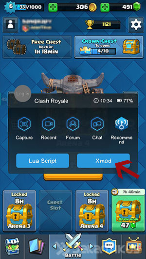 Mod Clash Royale Android 3