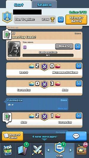 Fitur Update Clash Royale 3