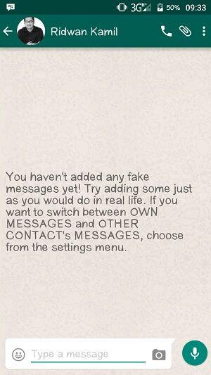 Cara Membuat Chat Palsu 3