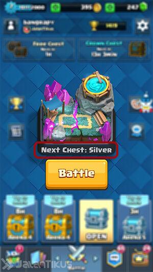 Mod Clash Royale Mengetahui Chest Yang Didapat Selanjutnya 3