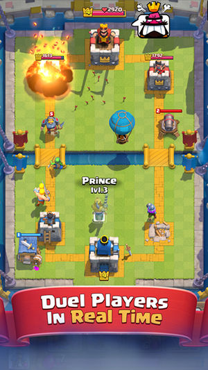 Game Multiplayer Lintas Platform Clash Royale