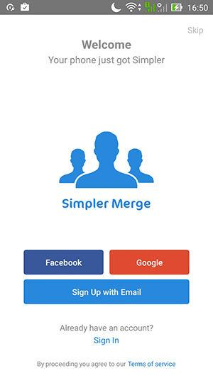 Cara Hapus Duplikat Kontak Simpler Merge Duplicates 2