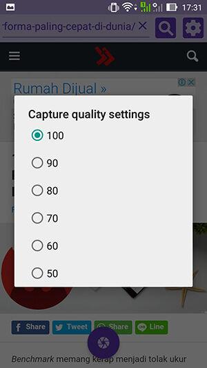 Cara Mudah Menyimpan Screenshot Panjang Di Android Scrool Capture Setting