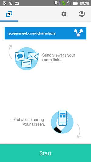 Cara Menggunakan Screenmeet