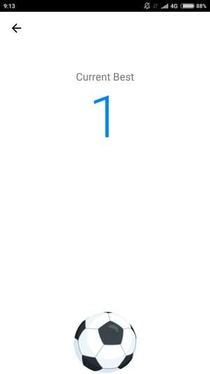 Game Bola Facebook Messenger 3