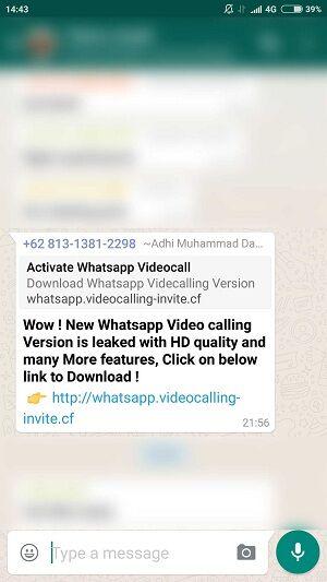 Bahaya Undangan Video Call Whatsapp 3