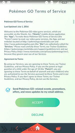 Cara Install Pokemon Go Di Android 4