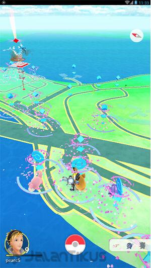 Cara Main Pokemon Go Di Jelly Bean 3