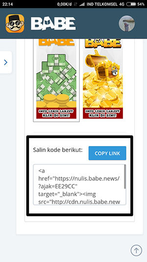 Copy Link Lebih Kreatif
