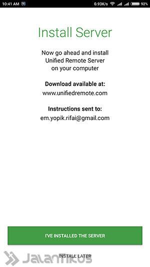 Cara Mengendalikan Komputer Lewat Hp Android Ios 4