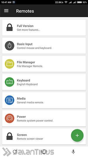 Cara Mengendalikan Komputer Lewat Hp Android Ios 6