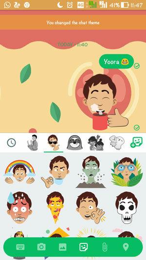 Cara Mengubah Selfie Jadi Sticker Chatting 5