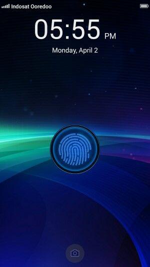 Memasang fingerprint pada layar android 2