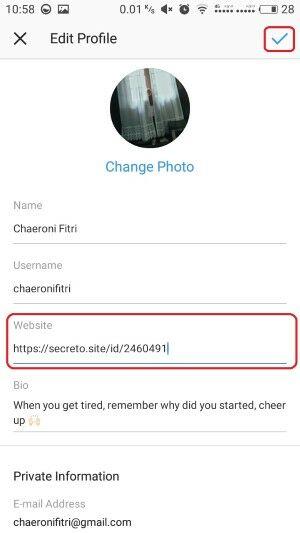 Cara Pasang Secreto Instagram Whatsapp 2 A888e