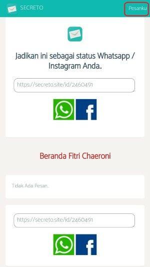 Cara Pasang Secreto Instagram Whatsapp 5 7f596
