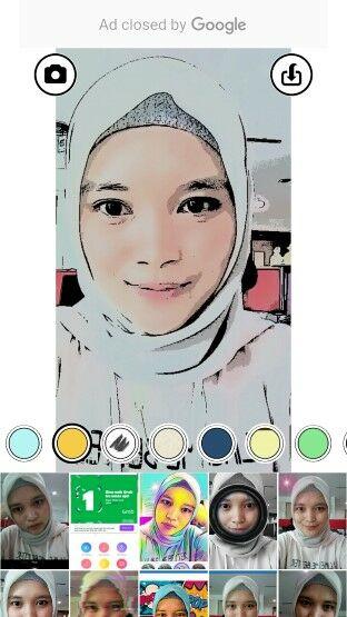 10 Aplikasi Edit Foto Jadi Kartun Kece Android 5 Editan