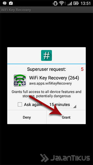 Cara Mengetahui Password WiFi Android wifi recovery 1