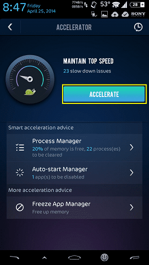Speed Up Android 2