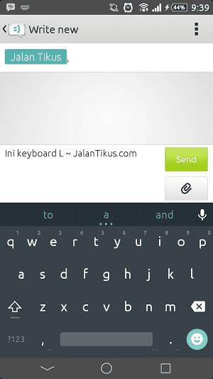 Keyboard L 3
