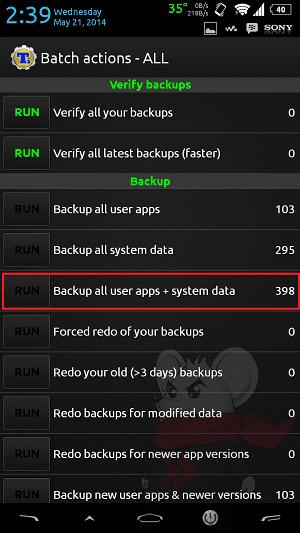Cara Backup 2