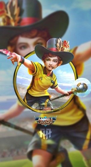 Wallpaper HD Mobile Legends Harley Referee