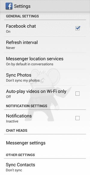 Facebook Di Android Lambat2