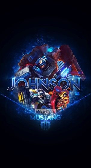 Wallpaper HD Mobile Legends Johnson Mustang Skin