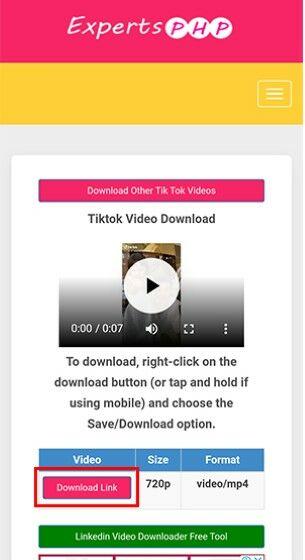 Download Video Tik Tok Terbaru 7bd96