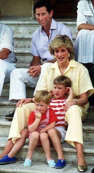 Keluarga Pangeran Charles Dan Putri Diana Fa096