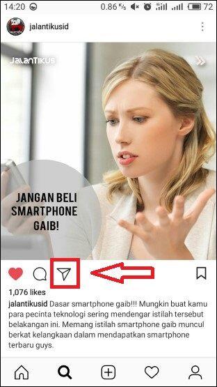 Cara Repost Instagram Tanpa Aplikasi 1 06695