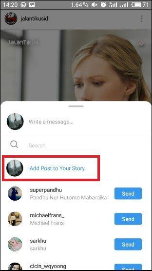 Cara Repost Instagram Tanpa Aplikasi 2 7eb77
