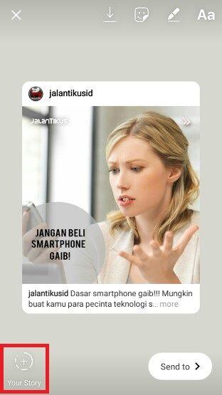 Cara Repost Instagram Tanpa Aplikasi 3 508e6