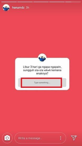 Cara Pakai Instagram Ask Me Question 5 B4144