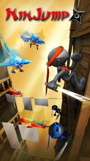 Game Ninja Offline Jump 0d6bf
