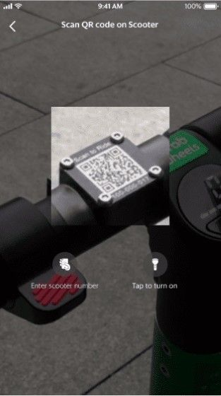 Grab Scooter 8932f