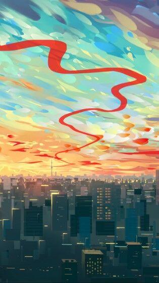 City Art Sky Custom De285