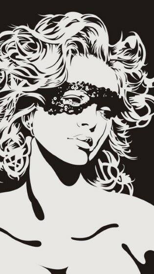 Girl Face Mask Sad Graphic Custom 962e0