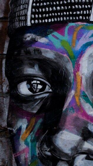 Graffiti Eyes Art Street Custom Ad3c2