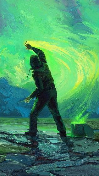 man_paint_sky (Custom)