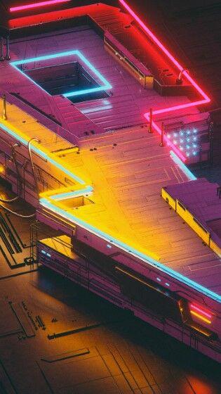 Neon Lightning Custom 18cd2