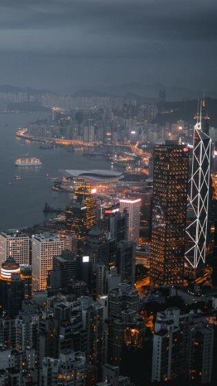 Night City Skyscrapers Custom Eaba3