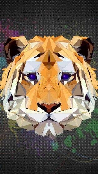 Polygon Tiger Custom 4fff5