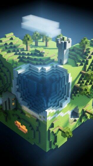 Minecraft Planet Cube Cubes World Custom 27f8e