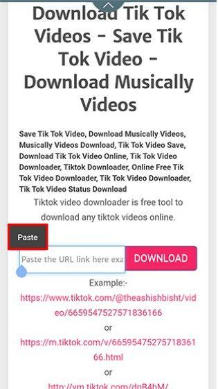 Cara Download Video Tik Tok 42c56