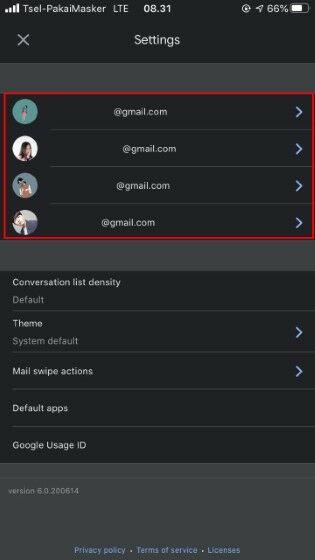 Cara Menghapus Foto Profil Gmail Di Hp Iphone 54414
