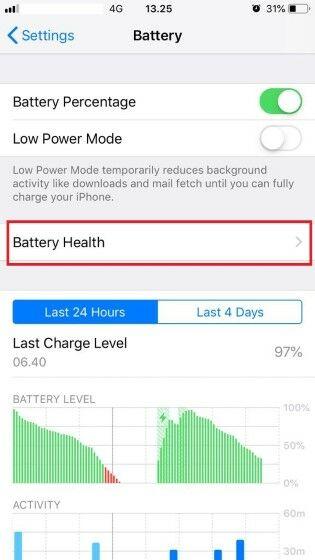 Cara Cek Kesehatan Baterai Iphone 7 6bd77