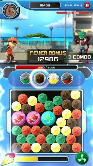 Game Boboiboy Galactic Heroes F6332